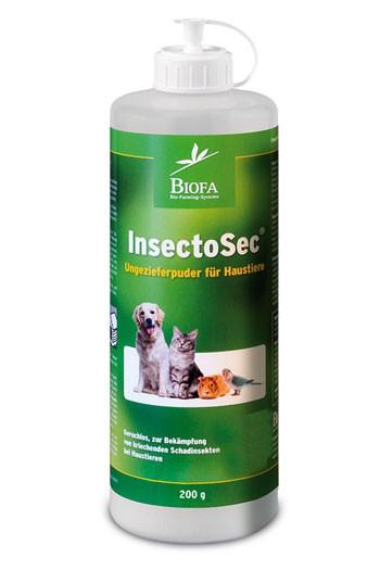 InsectoSec -Haustier- 200 g Stäubeflasche